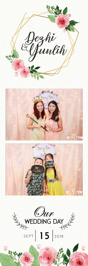 PHOTO BOOTH PRINTS & PERSONALISED TEMPLATE DESIGN 23