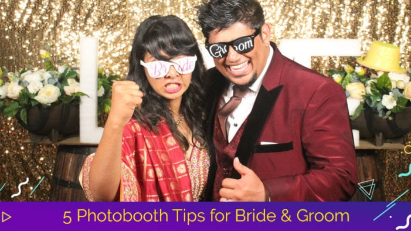 5 photobooth tips for bride & groom